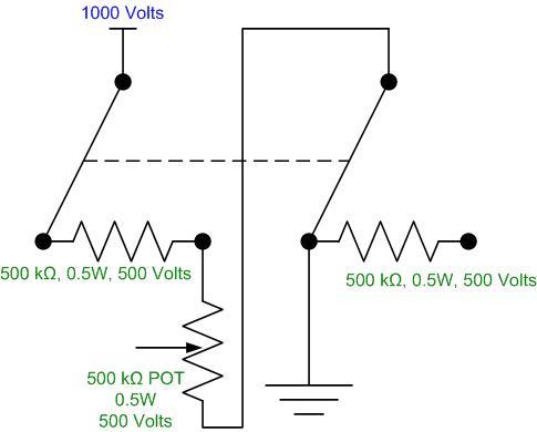 High Voltage Potentiometer