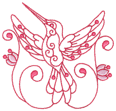 Hummingbirds Machine Embroidery Designs Free Embroidery Patterns