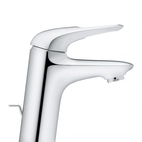 Grohe Eurostyle Einhand-Waschtischbatterie. Zero. S-Size mit Ablaufgarnitur. chrom - 23564003 - Emero.de