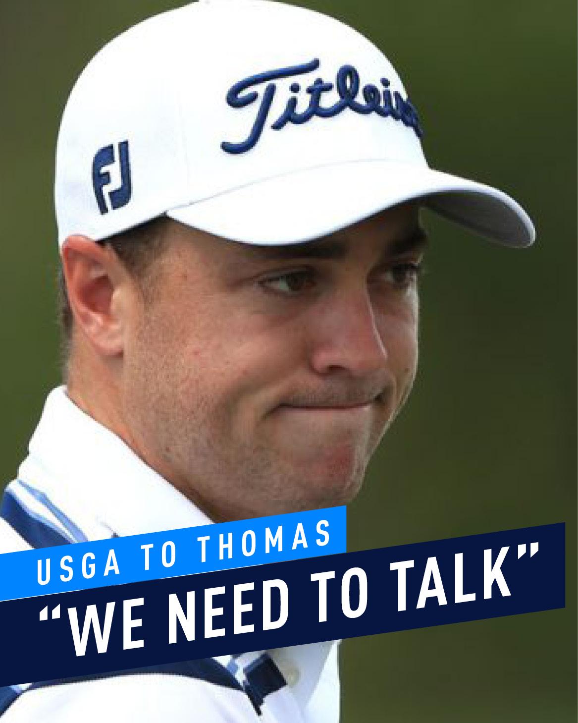 Thomas and the USGA