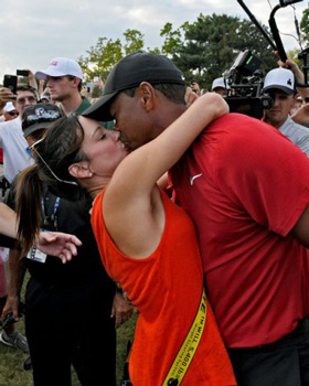 WHO IS TIGER'S GIRLFRIEND?