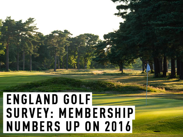 England Golf survey