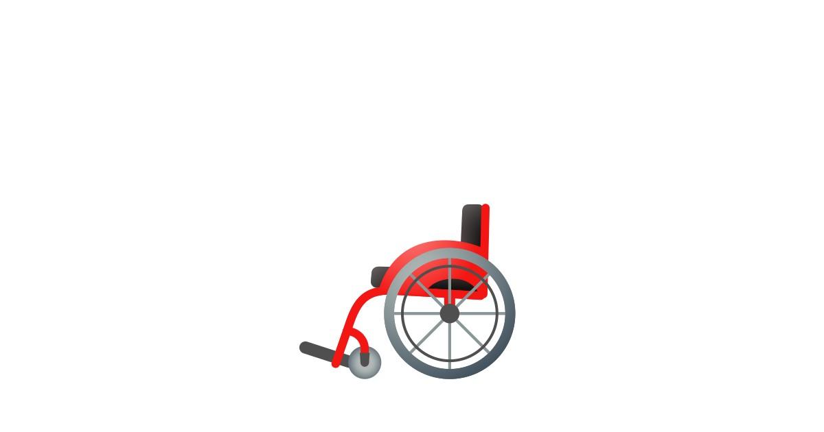 Silla De Ruedas Manual Emoji