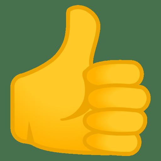 thumbs up emoji like