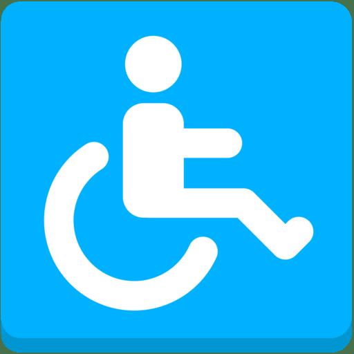wheelchair emoji recliner chair covers target australia symbol mozilla firefox os 2 5