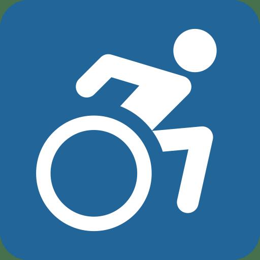 wheelchair emoji chair feet glides symbol twitter twemoji 11 1