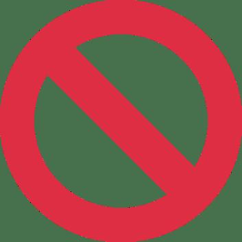 Resultado de imagem para figura de proibição