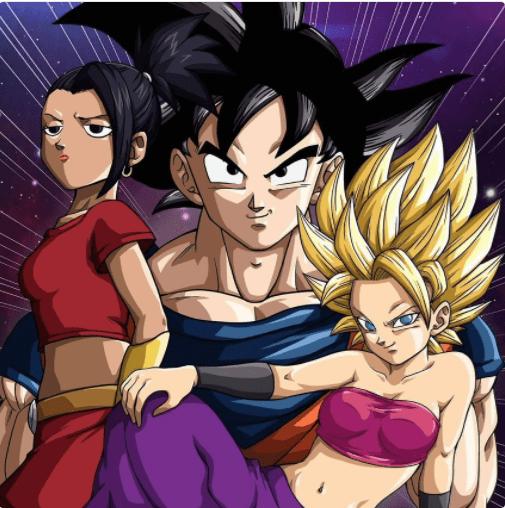 Dragon Ball Super - Goku Vs. Caulifla