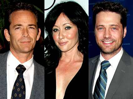 Jason Priestley, Shannen Doherty, Luke Perry