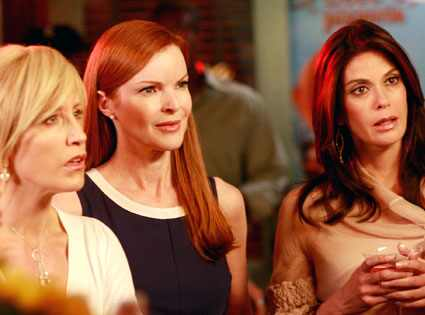 Felicity Huffman, Marcia Cross, Teri Hatcher, Desperate Housewives