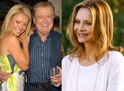 Kelly Ripa, Regis Philbin, Calista Flockhart