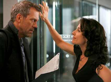 Lisa Edelstein, Hugh Laurie, House