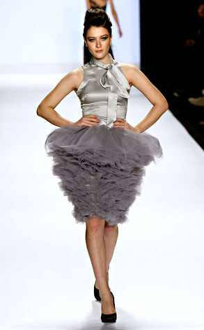 Project Runway Fashion Show Model