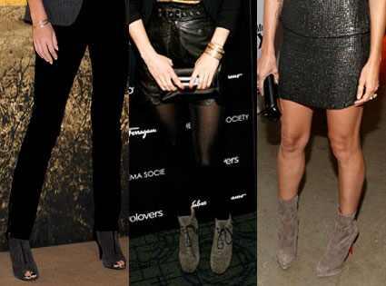 Charlize Theron, Gwyneth Paltrow, Heidi Klum, Boots