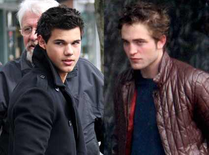Taylor Lautner, Robert Pattinson