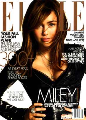 Miley Cyrus, Elle Magazine