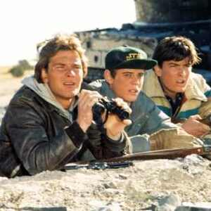 Patrick Swayze, C. Thomas Howell, Charlie Sheen, Red Dawn