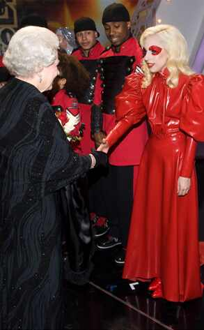 Lady Gaga and Queen