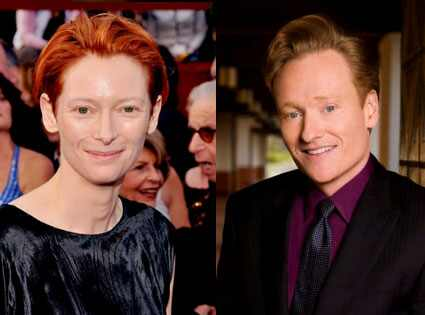 Tilda Swinton, Conan O'Brien