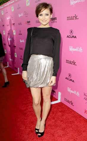 Silver Short Hair 90210 Jessica Stroup The
