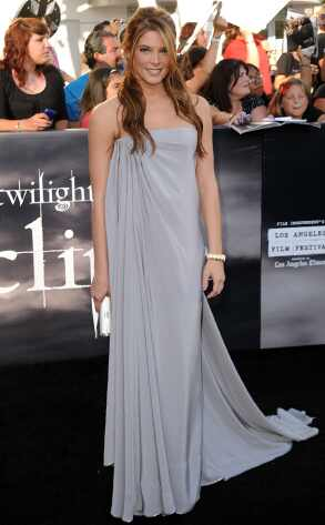 Eclipse Premiere: Special Edition  It's the Twilight Saga's big premiere night again, and Ashley Greene doesn't disappoint in this flowing goddess gown. It's def a love-it-or-hate-it piece, and we fell for it hard.