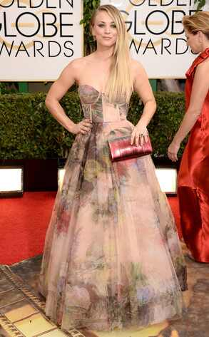 Kaley Cuoco,  Golden Globes