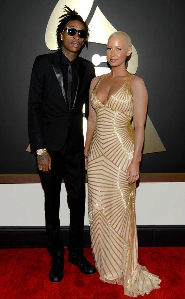 Wiz Khalifa, Amber Rose, Grammy Awards