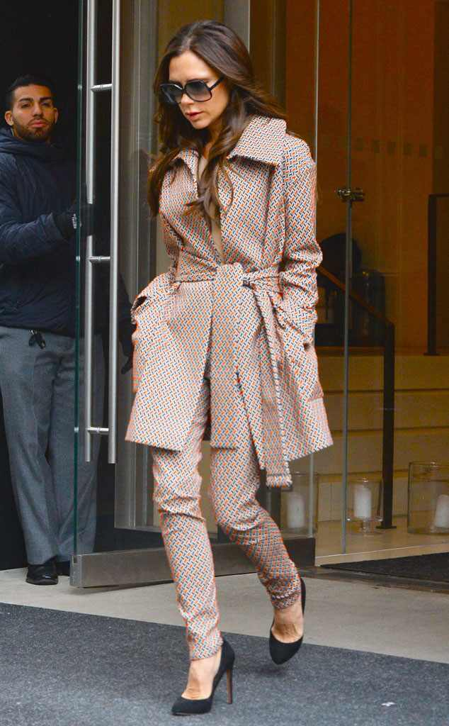 Victoria Beckham, New York Fashion Week Star Sightings