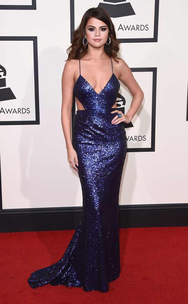 Grammys 2016: Red Carpet Arrivals Selena Gomez, 2016 Grammy Awards