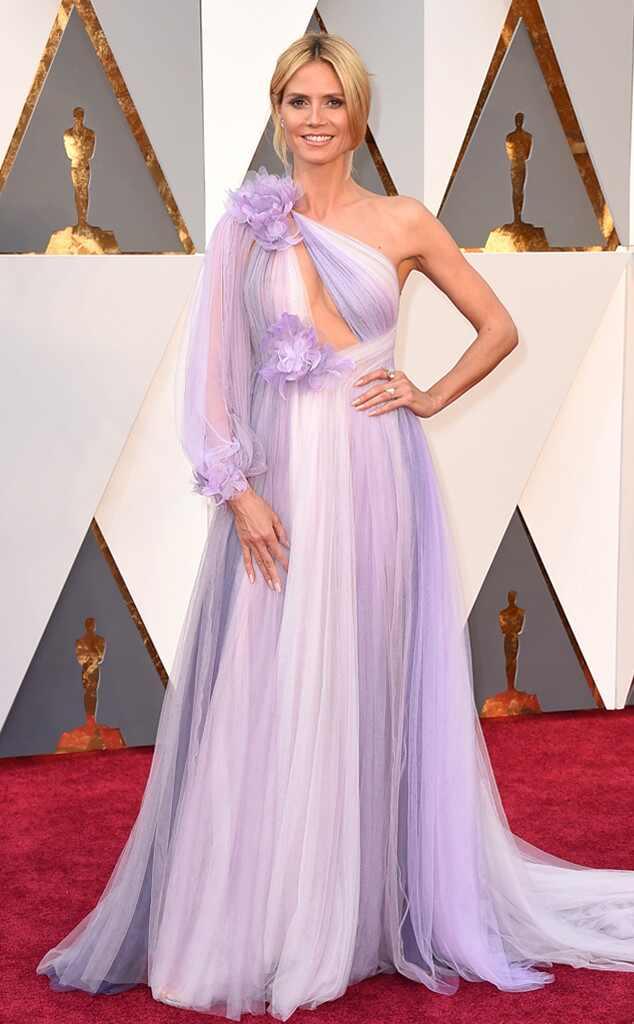 Oscars 2016: Red Carpet Arrivals Heidi Klum, 2016 Oscars, Academy Awards, Arrivals