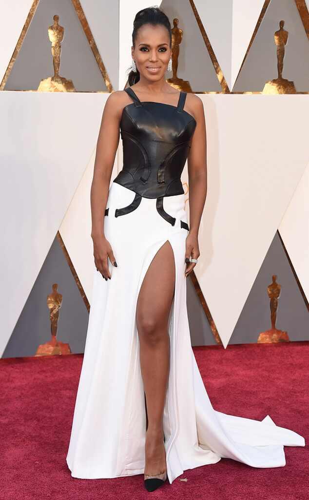 Oscars 2016: Red Carpet Arrivals Kerry Washington, 2016 Oscars, Academy Awards, Arrivals