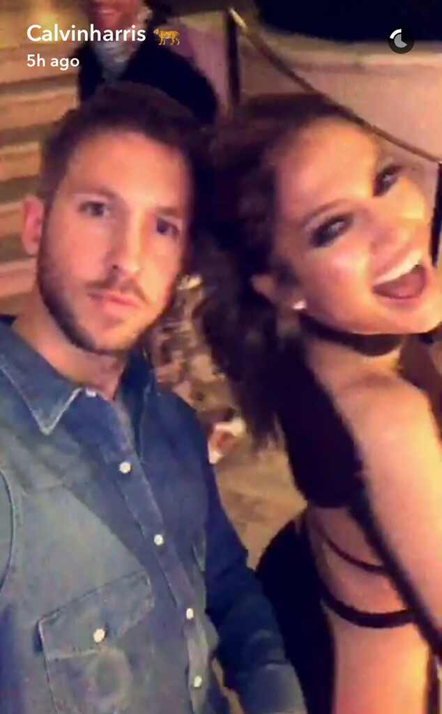 Calvin Harris, Jennifer Lopez, Snapchat