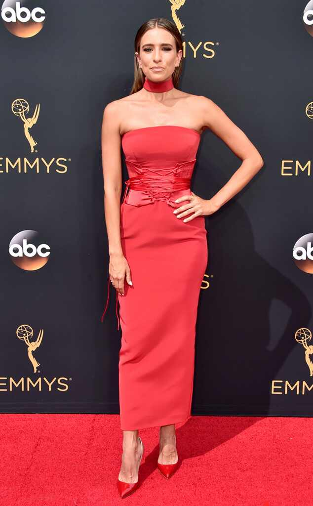 2016 Emmys Red Carpet Arrivals Renee Bargh, 2016 Emmy Awards, Arrivals
