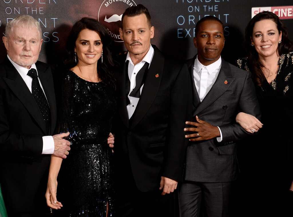 Derek Jacobi, Penelope Cruz, Johnny Depp, Leslie Odom Jr., Olivia Coleman