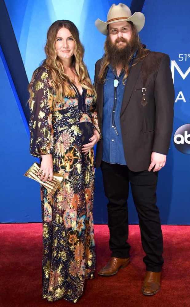 Morgane Stapleton, Chris Stapleton, 2017 CMA Awards, Couples