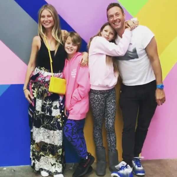 Gwyneth Paltrow, Chris Martin, Apple