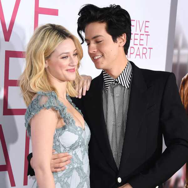 Lili Reinhart, Cole Sprouse, Five Feet Apart Premiere, PDA