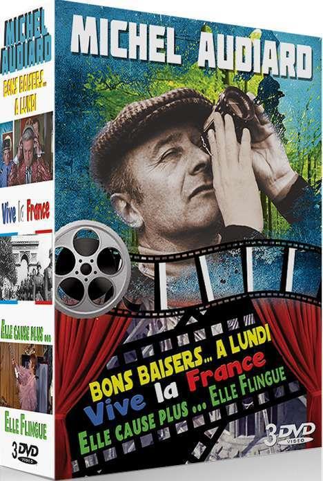 Bons Baisers... à Lundi : baisers..., lundi, Michel, Audiard, Cause, Plus,, Flingue, Baisers,, Lundi, France, Panoceanic, Films, Place, Libraires
