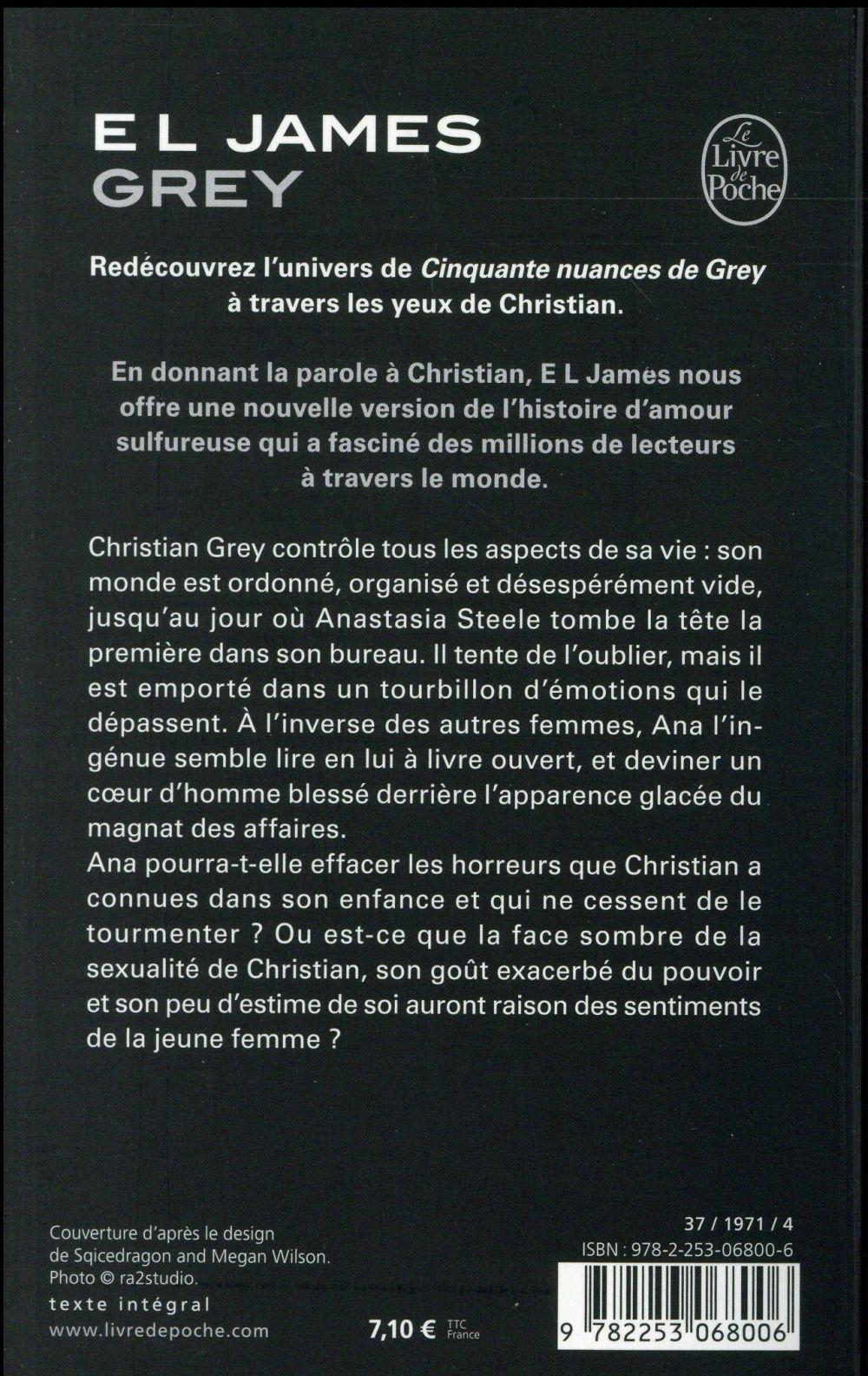 50 Nuance De Grey Livre : nuance, livre, Cinquante, Nuances, Christian, James, Librairie, Generale, Francaise, Poche, Livre, NANCY