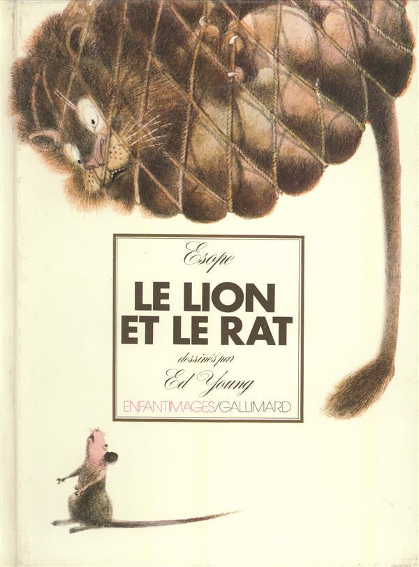 Le Lion Et Le Rat Esope : esope, Esope, Gallimard-jeunesse, Grand, Format, Livre, NANCY