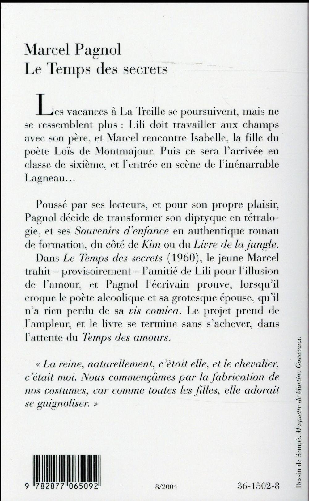 Marcel Pagnol Le Temps Des Secrets : marcel, pagnol, temps, secrets, Temps, Secrets, Marcel, Pagnol, Fallois, Poche, Espace, Culturel, Leclerc