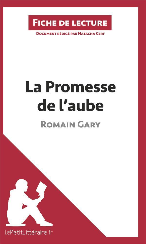 La Promesse de l'aube - Romain Gary - Babelio