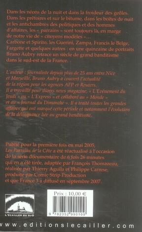Les Parrains De La Cote : parrains, Parrains, *poche*, Brüno, L'ecailler, Grand, Format, Livre, NANCY