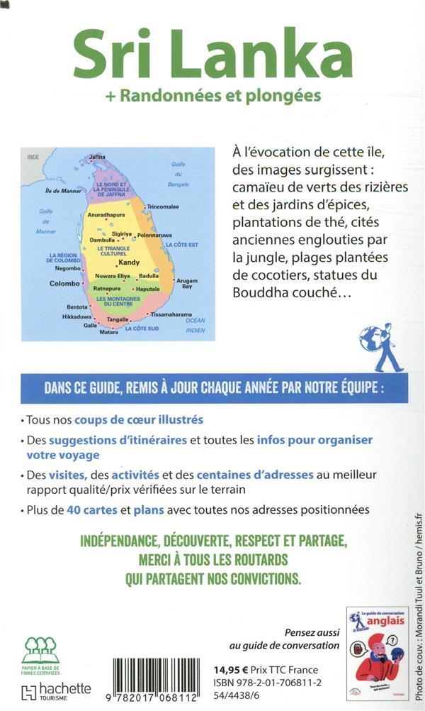 Sri Lanka Guide Du Routard : lanka, guide, routard, Guide, Routard, Lanka, Randonnées, Plongées, (édition, 2020), Collectif, Hachette, Tourisme, Grand, Format, Choses, BOULOGNE, BILLANCOURT