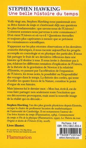 Une Belle Histoire Du Temps : belle, histoire, temps, Belle, Histoire, Temps, Stephen, William, Hawking, Flammarion, Poche, Livre, NANCY