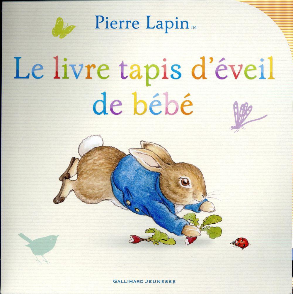 pierre lapin le livre tapis d eveil de bebe beatrix potter gallimard jeunesse grand format librairie gallimard paris