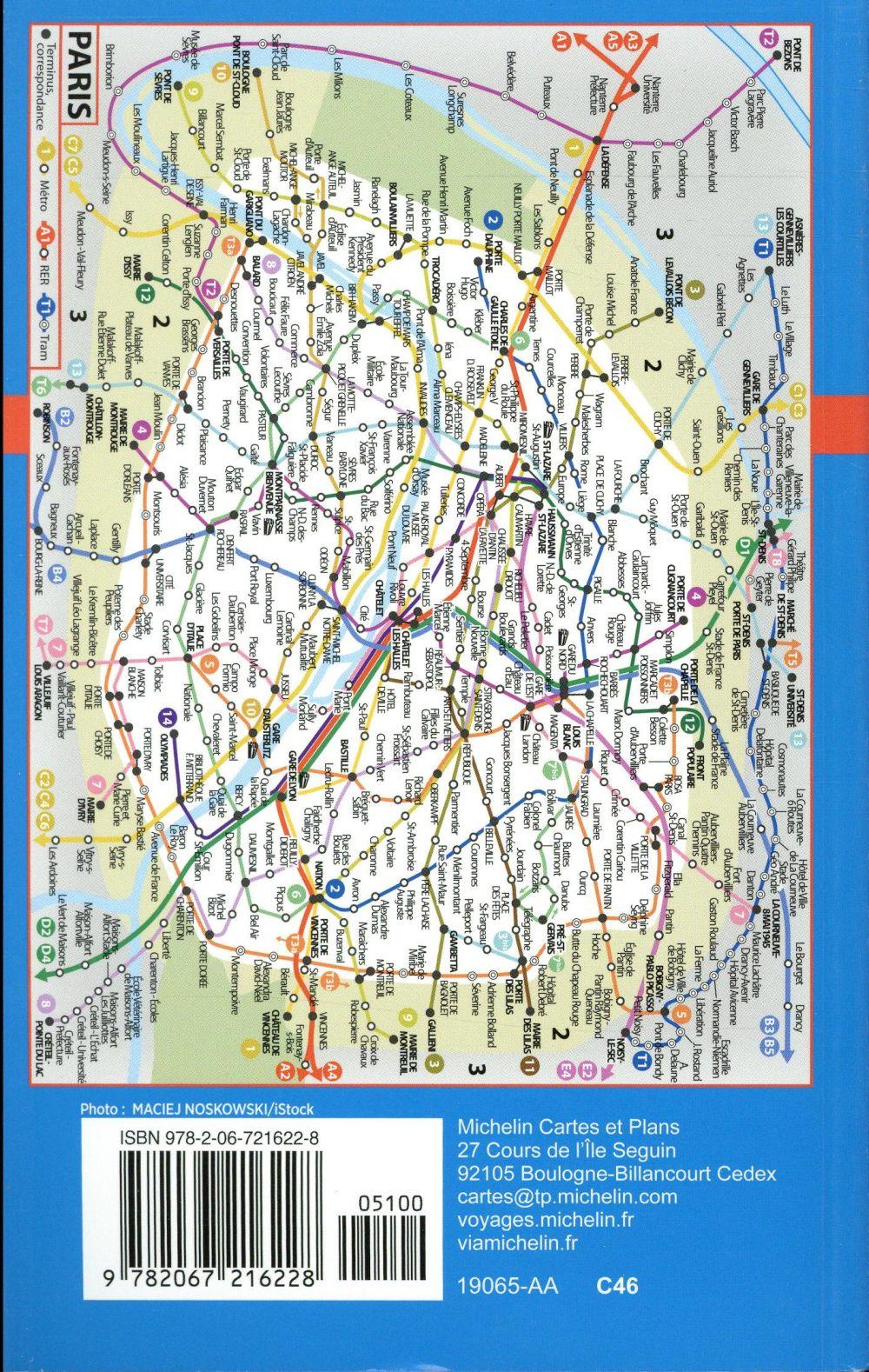 Plan De Paris Et Banlieue : paris, banlieue, Paris, Banlieue, Arrondissement, Communes, (édition, 2017), Collectif, Michelin, Carte, Librairie, Delamain, PARIS