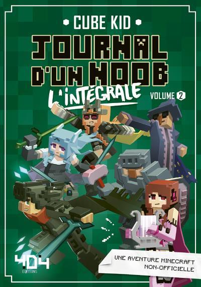 Le Journal D'un Noob Tome 7 : journal, Journal, INTEGRALE, VOL.2, Editions, Grand, Format, Livre, NANCY