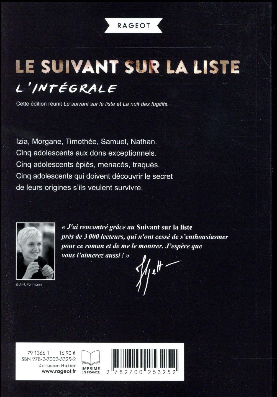 Le Suivant Sur La Liste : suivant, liste, Suivant, Liste, Fugitifs, Manon, Fargetton, Rageot, Grand, Format, L'Alinéa, MARTIGUES