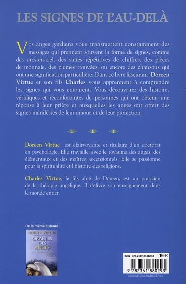 Les Signes De L Au Dela : signes, Signes, L'au-delà, Messages, Anges, Guider, Choix, Doreen, Virtue,, Charles, Virtue, Exergue, Grand, Format, L'Alinéa, MARTIGUES